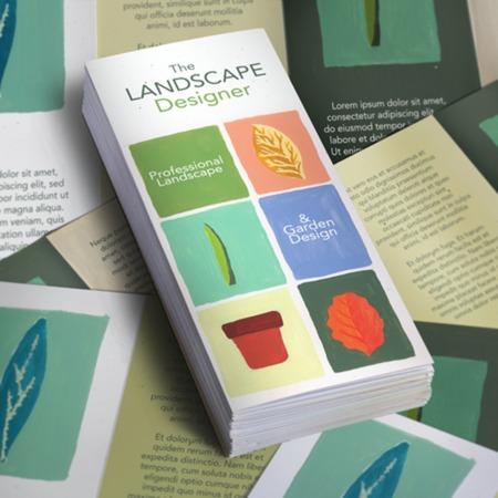 Print Double Parallel Fold Brochures - Custom Sizes UPrinting - double fold brochure
